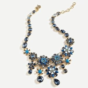 J.CREW FLOWER BOOM STATEMENT NECKLACE